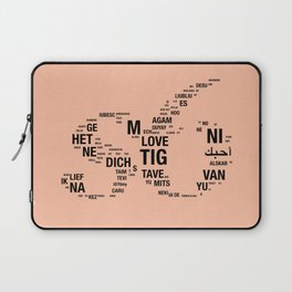 All languages of the world Laptop Sleeve