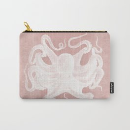 Octopus on Coral Carry-All Pouch