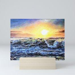 Coastal Daybreak Mini Art Print