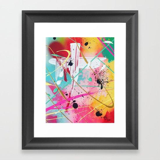 SUMMER FLING Framed Art Print