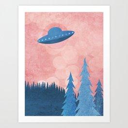 Unidentified Flying Object Art Print