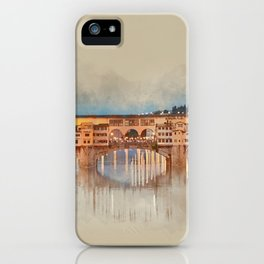 Firenze, Ponte Vecchio iPhone Case