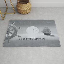 I am the captain Rug