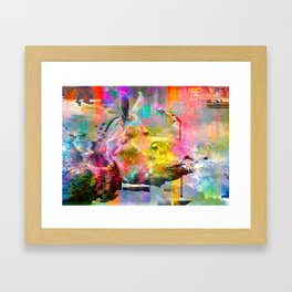 Hyper - Rhino Steez Framed Art Print