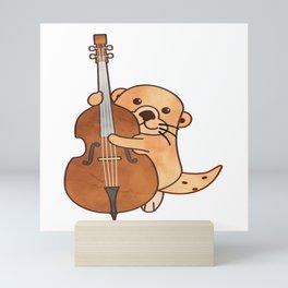 Sweet Otter Chello Kids Music Gift Mini Art Print
