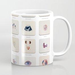 Morgue Mondays: 52 Weeks of Human Body Watercolor Paintings Coffee Mug