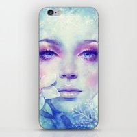 sale iPhone & iPod Skins featuring December by Anna Dittmann