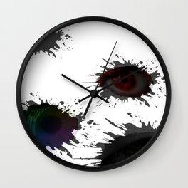 SEEING_EYES Wall Clock