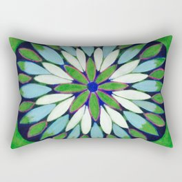Botanical Refletions Rectangular Pillow
