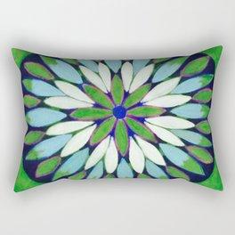 Botanical Refletions Rectangular Pillow