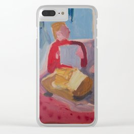 Saturday Morning Clear iPhone Case
