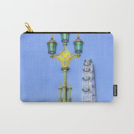 Westminster Bridge And The London Eye Carry-All Pouch