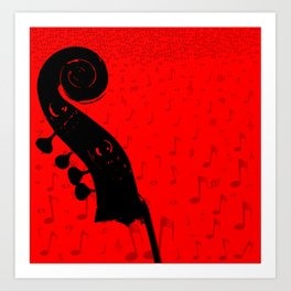 Classical Music Art Print