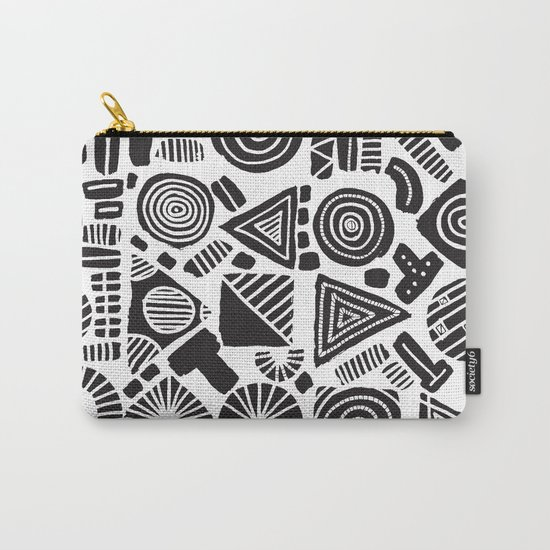 ABSTRACT 006 Carry-All Pouch