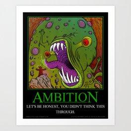 Mythos Ambition Art Print