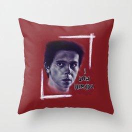 Eddie Kaspbrak Throw Pillow