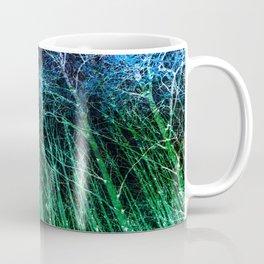 My Secret Trippy Forest Blue Green Coffee Mug