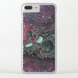 Ship of teflocarbon Clear iPhone Case