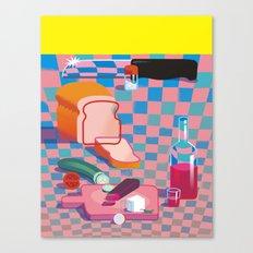 The Knife Canvas Print