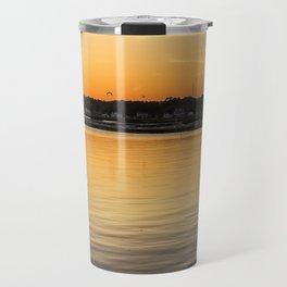 Chincoteague Bay at Sunset Travel Mug