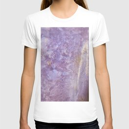 Lady slipper seashell mother of pearl T-shirt