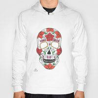 day of the dead Hoodies featuring Day Of The Dead by Alex + Orlaith