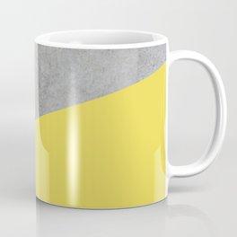 Concrete and Meadowlark Color Coffee Mug