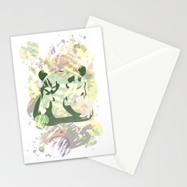 Vigilant Hippopotamus Stationery Cards