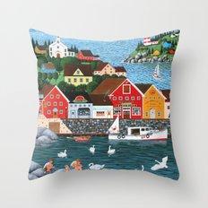 Swan's Cove Throw Pillow