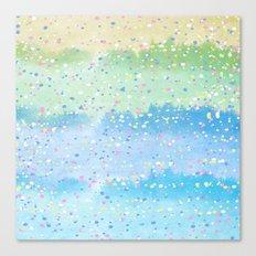 Spring Splatter Canvas Print