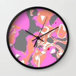 Marble Candy Wall Clock