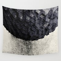 suits Wall Tapestries featuring ERTH I by Graphmob