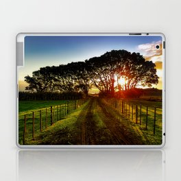 Fenced Sunrise Laptop & iPad Skin