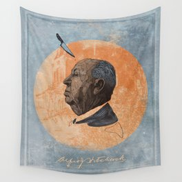 Alfred Hitchcock Wall Tapestry