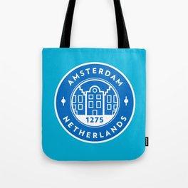 Amsterdam Badge Tote Bag