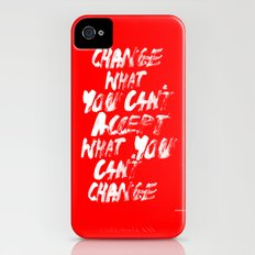 Accept / Change iPhone (4, 4s) Slim Case