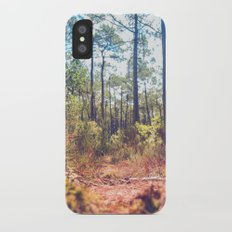 Trees in the Middle of Wilderness iPhone X Slim Case