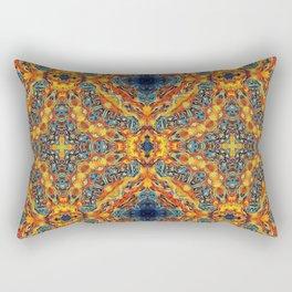 Sacred Flames and Tubes Between Rectangular Pillow
