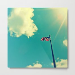 """God Bless America"" Metal Print"