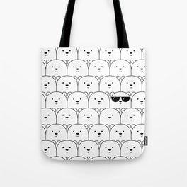 That Cool Polar Bear Tote Bag