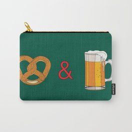Bretzels (Pretzels) and Beer Carry-All Pouch