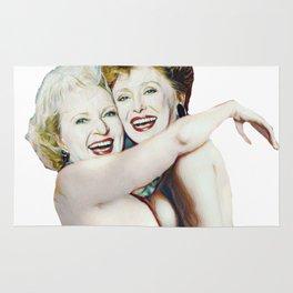 Golden Girls- Blanche & Rose Rug