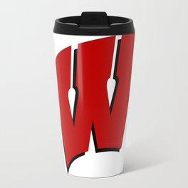 On Wisconsin! Travel Mug