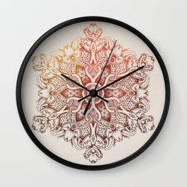 Modern Mandala Wall Clock