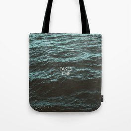 Jim Guthrie Takes Time Water Design Tote Bag