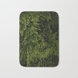 Small leaves Bath Mat