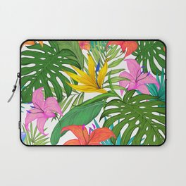 Tropical Colorful Palm Garden Laptop Sleeve