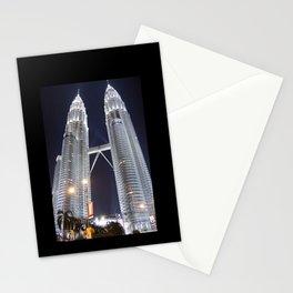 malaysia - petronas twin towers  Stationery Cards
