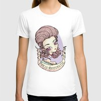 marie antoinette T-shirts featuring marie antoinette by Misha Mew