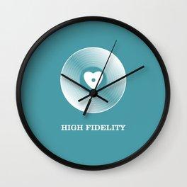 High Fidelity Wall Clock